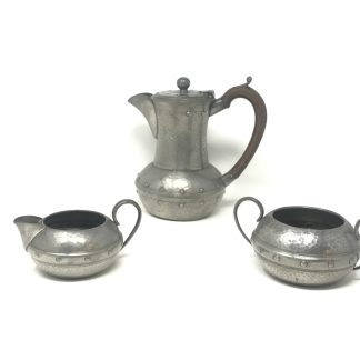 English Pewter Tea Set