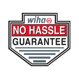 Wiha Tool Guide No Hassle Guarantee emblem