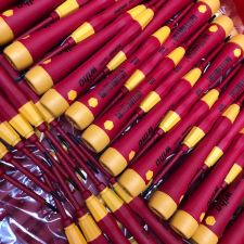 Insulated PicoFinish precision screwdrivers at the factory in Germany