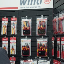 Wiha Insulated Tools at NCEL 2018 Tradeshow booth