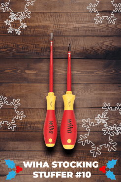 Insulated SlimLine Slotted/Phillips Screwdrivers 2 Piece Set