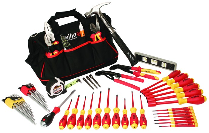 Master Electrician Tool Set from Wiha Tools VDE Rated