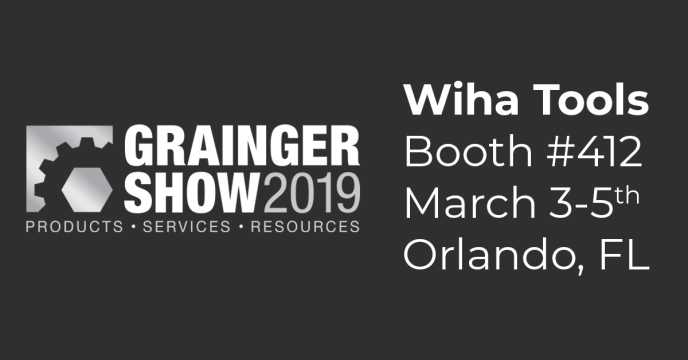 Wiha Tools Booth Announcement at Grainger Show 2019
