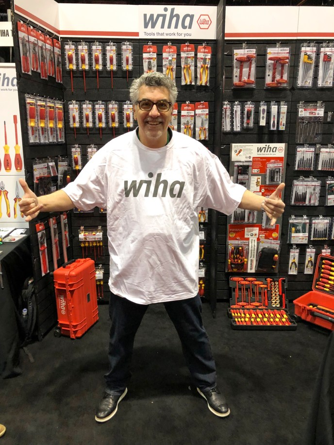 Wiha T-Shirt at Grainger Show