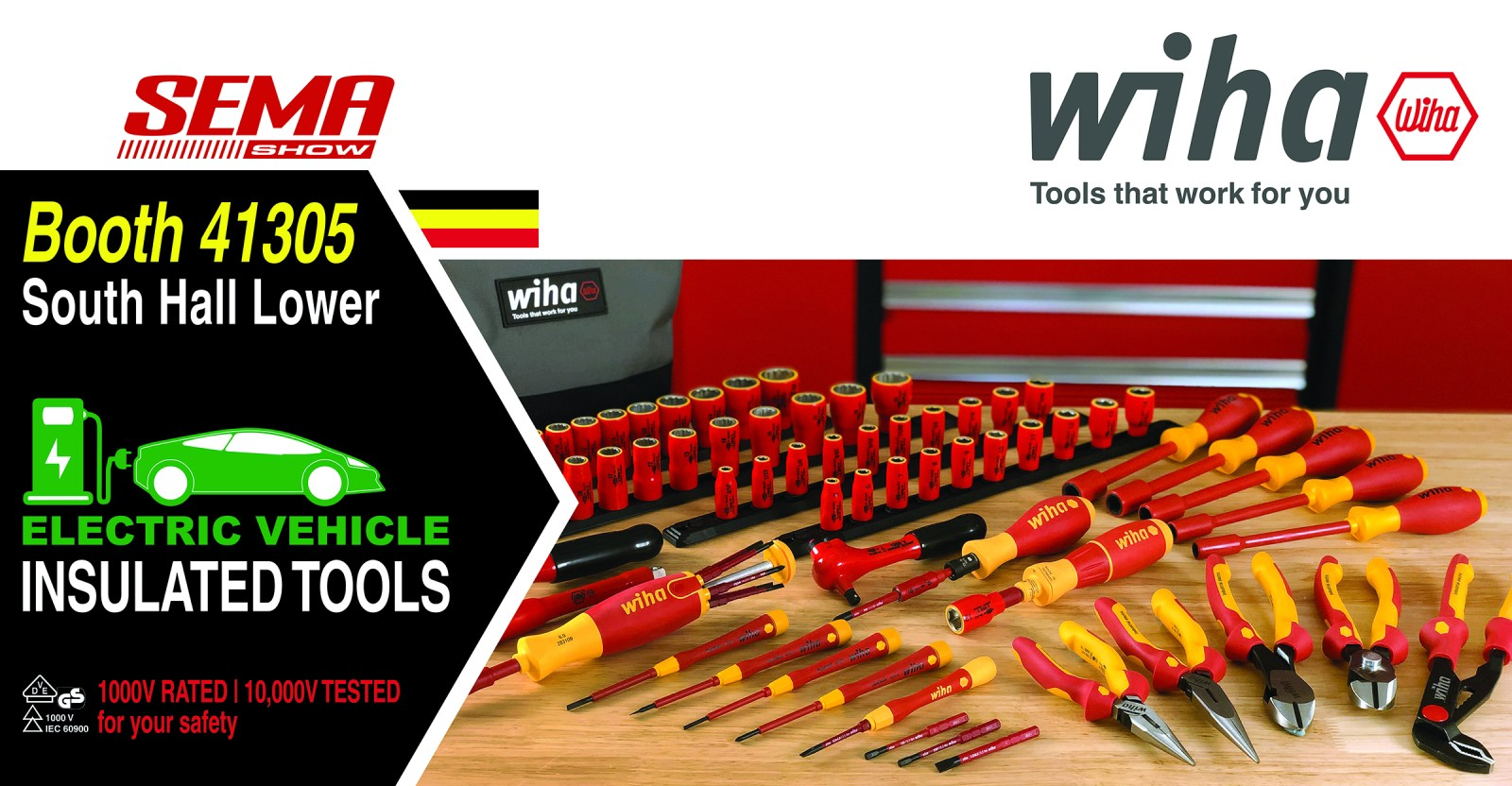 Wiha Tools SEMA Preparation Banner