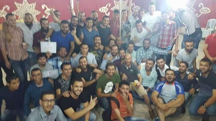 كتلة التجديد العربية تكرم الرفاقها الخريجين