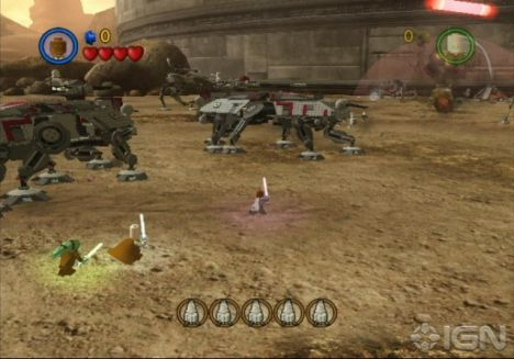 Lego Star Wars Iii Wii Review Ign