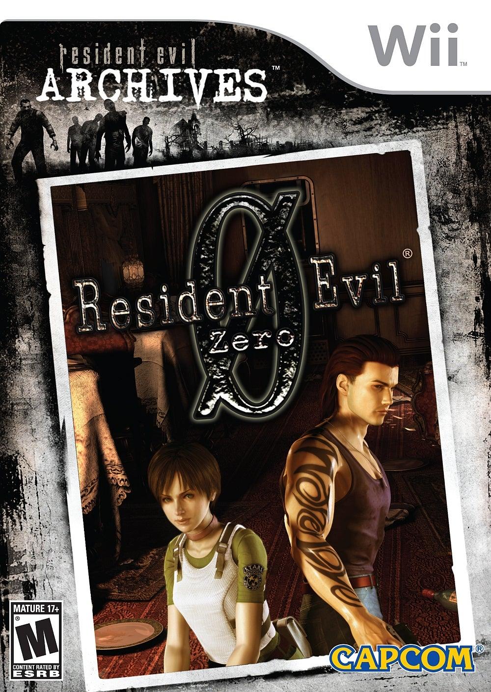Resident Evil Archives Resident Evil Zero Wii IGN