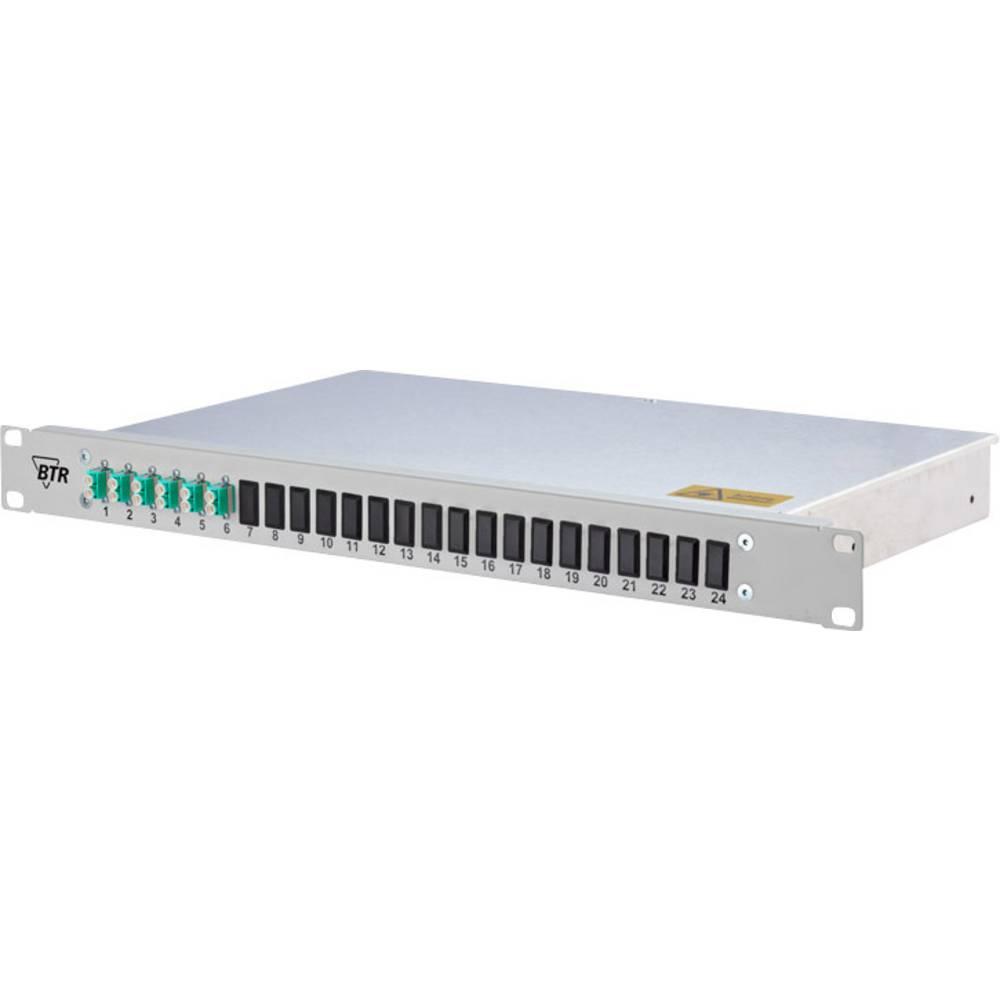 Glasvezel-patchpaneel 24 poorten LC-D Metz Connect 1502557706-E 1 HE