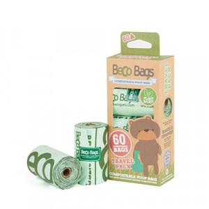Beco Bags Poepzakjes Compostable - 60 stuks Per 3 verpakkingen