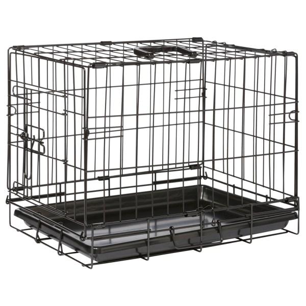 Adori Bench Zwart - Hondenbench - 47x30x37 cm