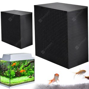Ecological Aquarium Water Purifier Cube Aquarium Cleaning Tool Strong Filter Household Fish Tank Active Carbon Purification Cube
