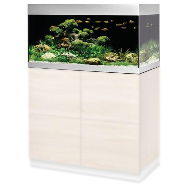 Oase Highline 200 Aquarium - Aquaria - 90x50x49 cm 200 l Zilver 90x50x49