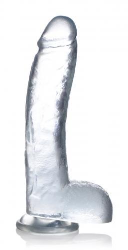 Jock Jock C-Thru Transparante Dildo - 29 cm.