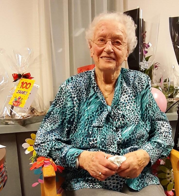 Mevrouw Zijlstra 100 jaar