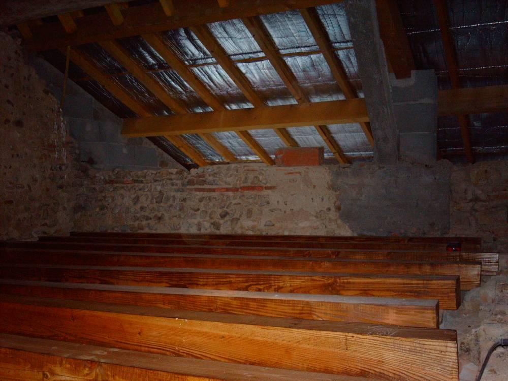 Fase 2: Nieuw balkenplafond 1e verdieping (2/4)