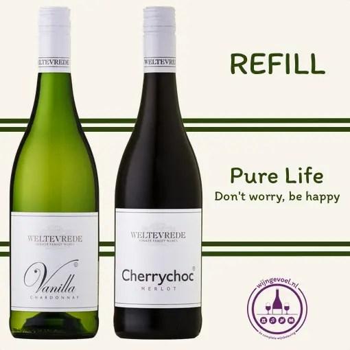 refill wijn beleving pure life Original pair