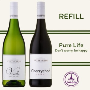 refill wijn beleving pure life Original pair