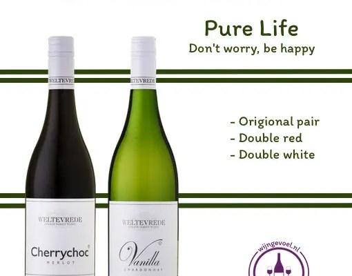 Navulling wijnpakket pure life