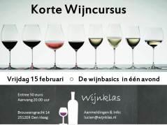 Wijnklas Wijncursus Den Haag