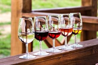 alle kleuren wijn