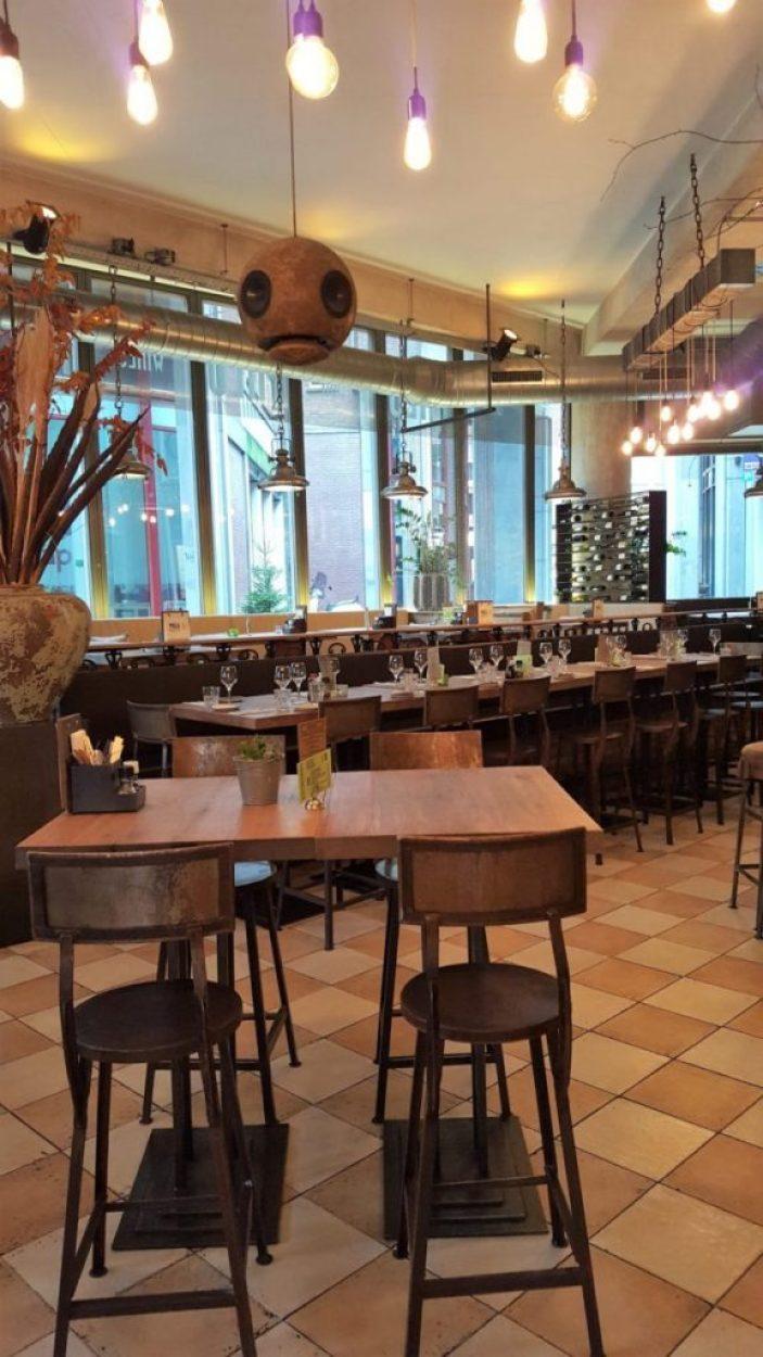 Restaurant Milu Den Haag: interieur