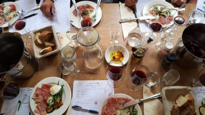 Italiaanse wijnproeverij in Den Haag bij restaurant Caroni