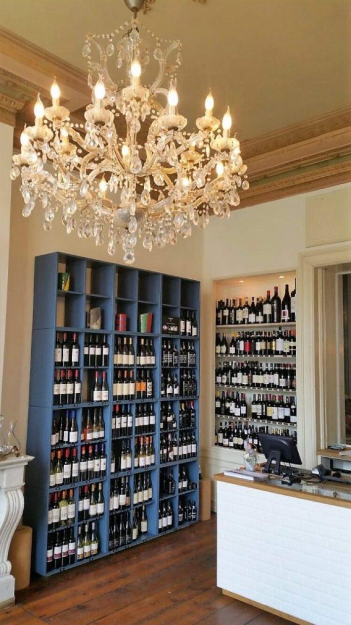 Vliegendt Hert in Middelburg: de wijnwinkel