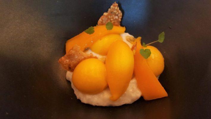 restaurant Fris in Haarlem: mango dessert