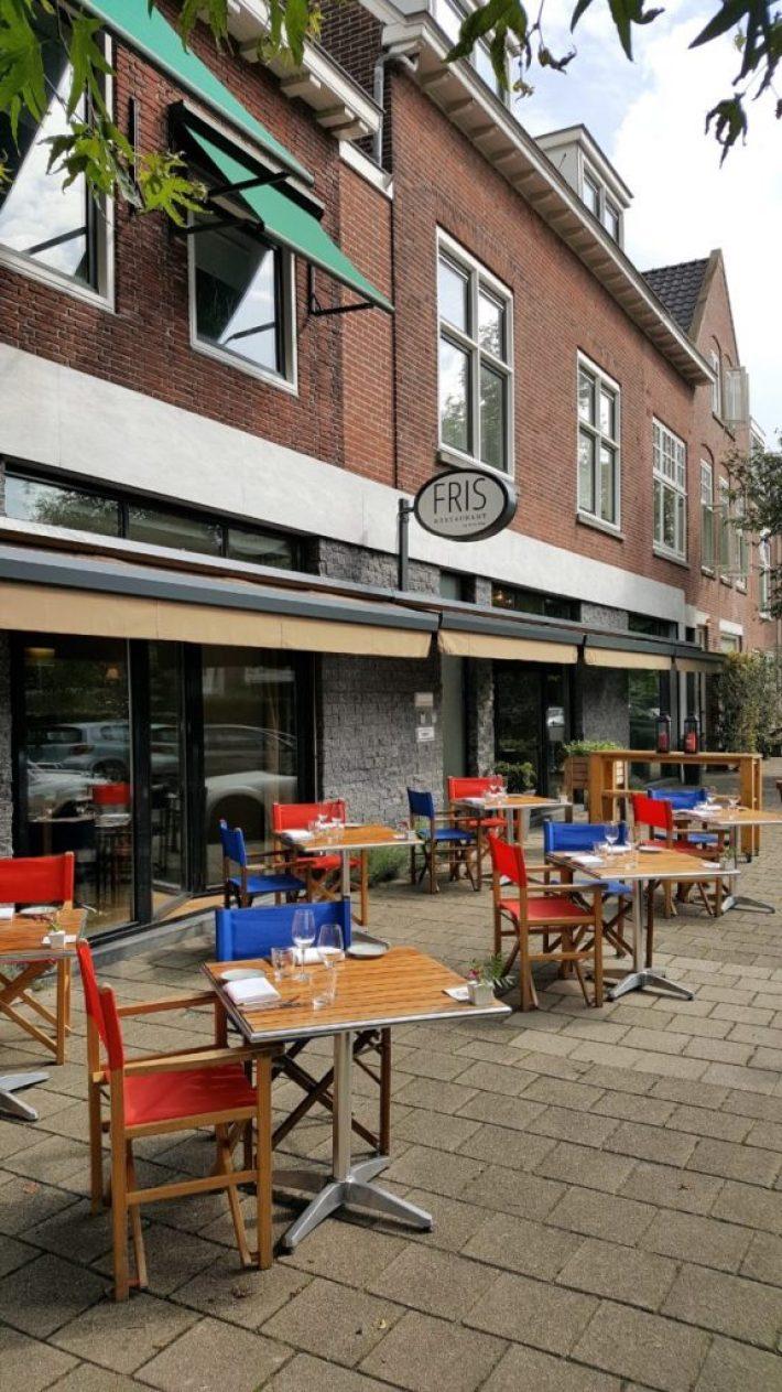 restaurant Fris in Haarlem: gezellig terras
