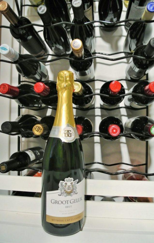 Mousserende wijn uit Zuid-Afrika: Cap Classique fles