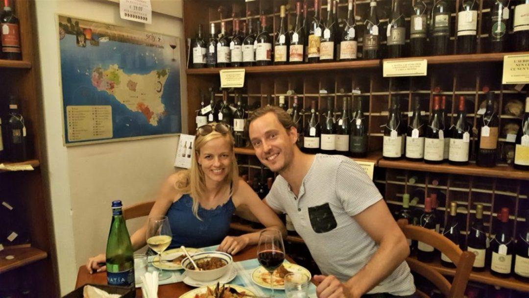 Sicilië tips voor een rondreis: enoteca sapori doc modica