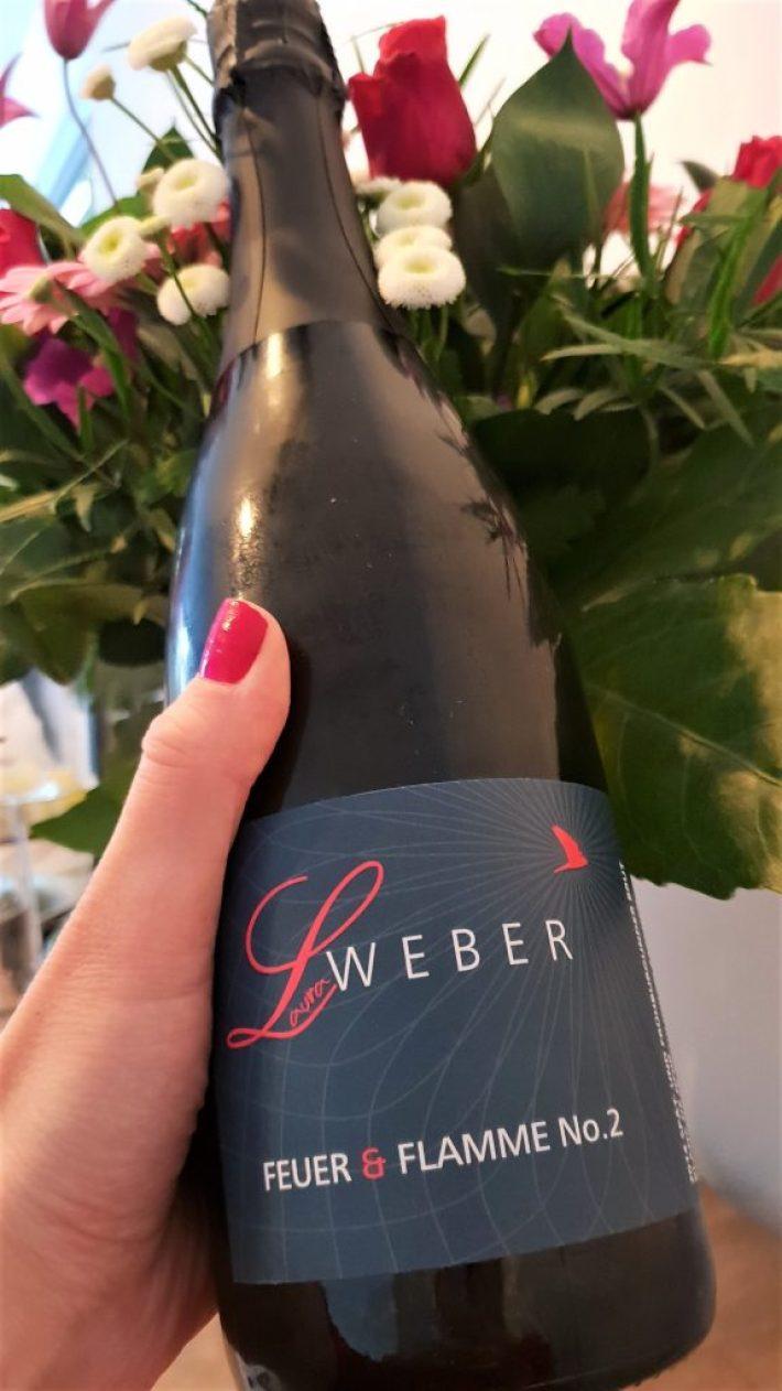 alternatieven voor champagne: Feuer Flamme Sekt Laura Weber