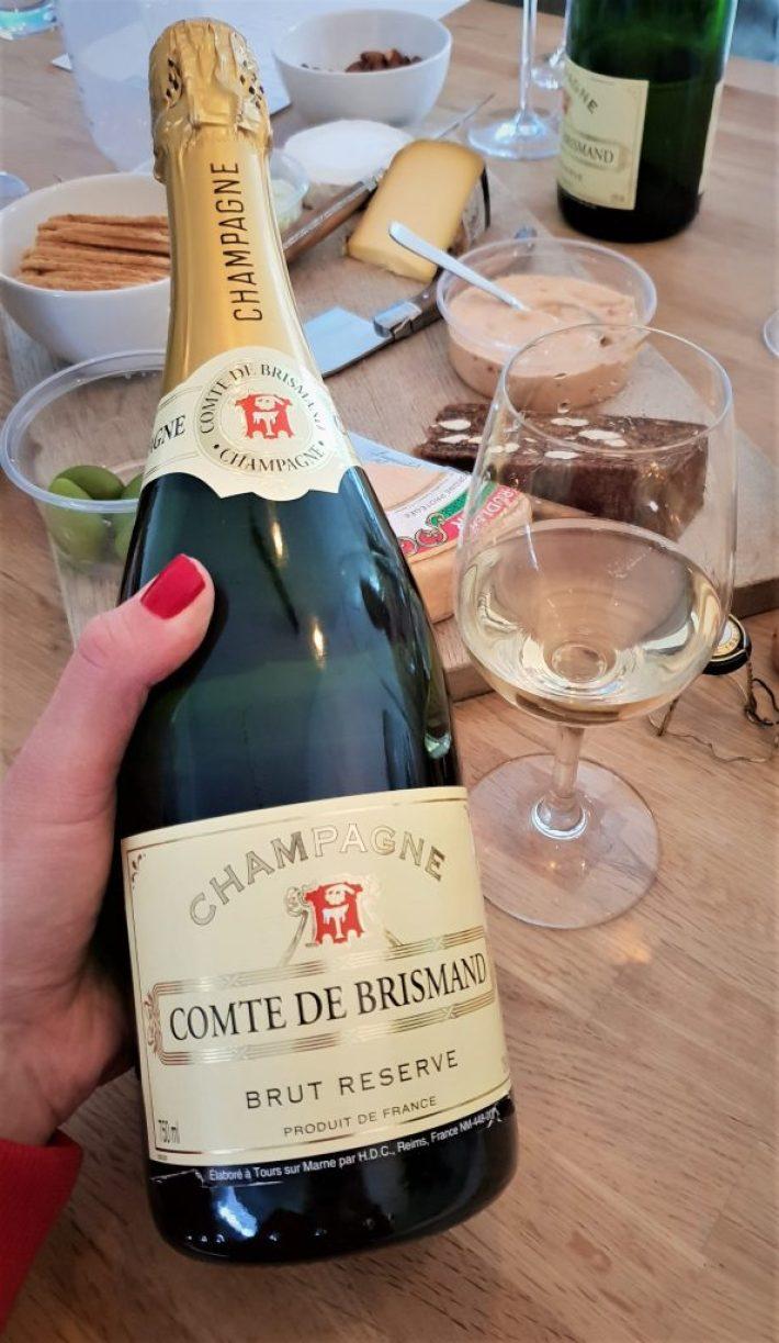 alternatieven voor champagne: Comte de Brismand