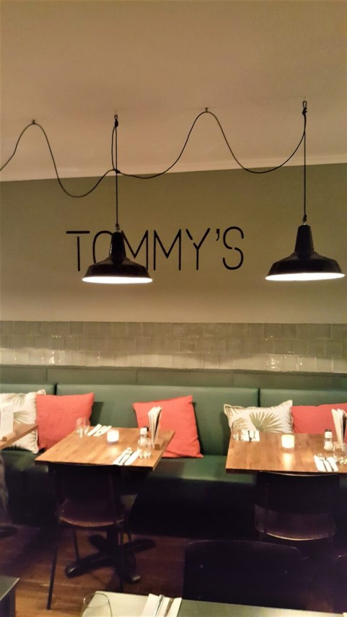 Leuke restaurants Den Haag: Tommy's