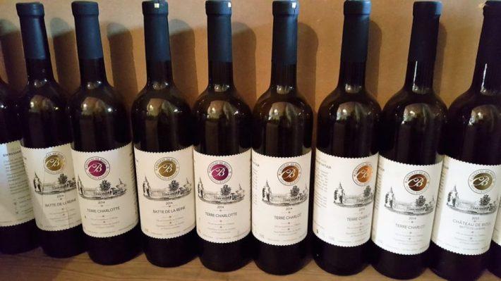 Belgische wijn: wijnflessen