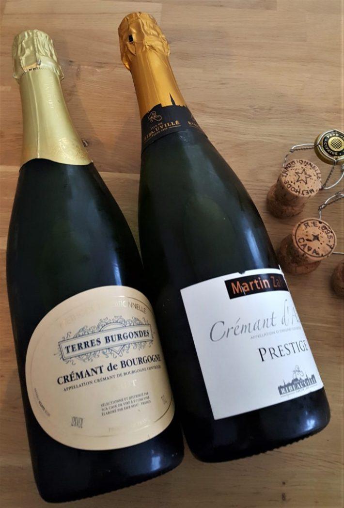 Alternatieven voor champagne: crémant