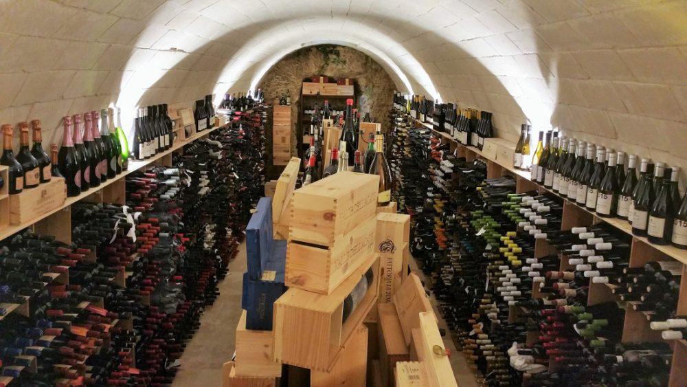 Tannine in wijn: wijnkelder