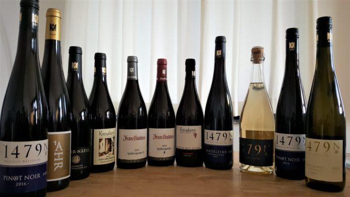 Wijnreis naar wijngebied de Ahr in Duitsland: Wijnflessen