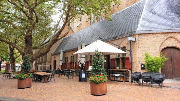 Leuke restaurants Den Haag: Zebedeus buiten