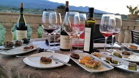 wijnproeverij sicilie