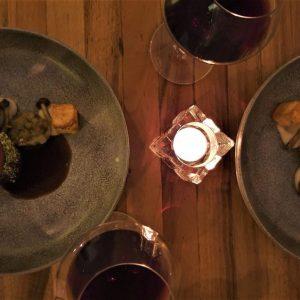 wijn spijs avond bij restaurant ADAM