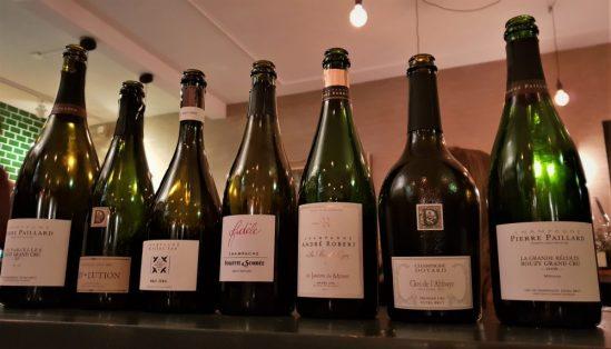 Champagne proeven bij Bouzy