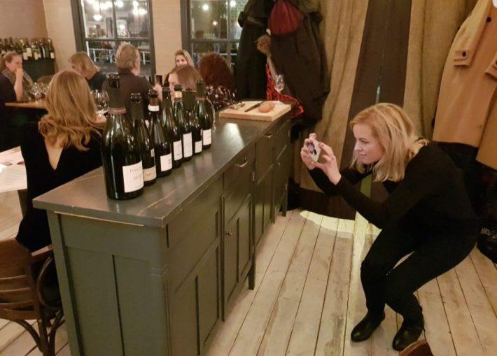 wijntjes met esther bij bouzy