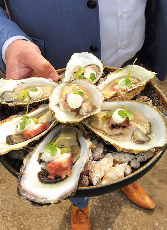 oesters bij Carelshaven