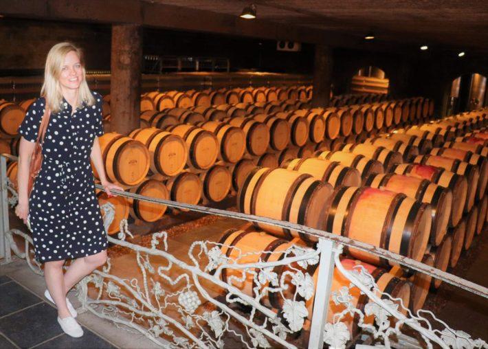 wijnkelder wijnkasteel Genoels Elderen