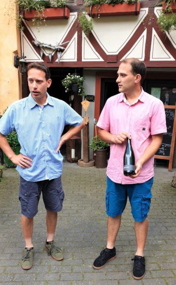 De broers Thomas en Martin Philipps