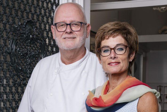 Cathy Moerdijk en Imko Binnerts van restaurant Puur Zee