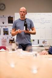 Als klapstuk een champagne van het huis Jacquesson (Cuvee 738, 2010), met uitleg over het maakproces en het onderuithalen van een hoop blabla over grote champagnehuizen.