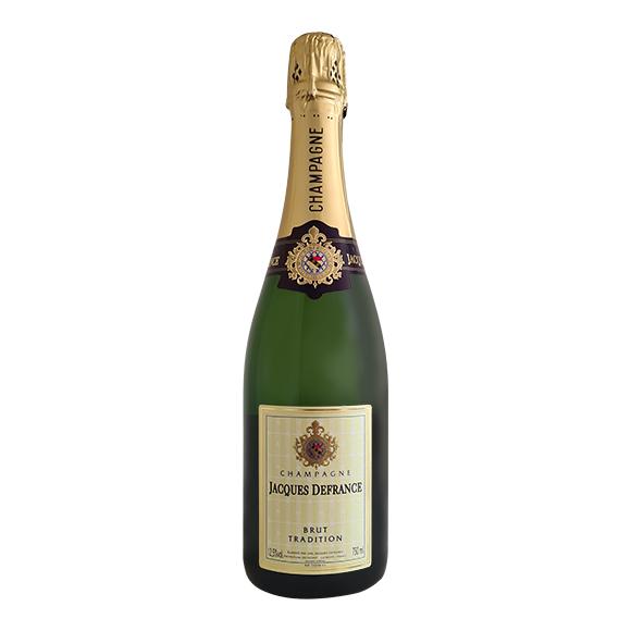 Jacques de France Champagne Brut Tradition